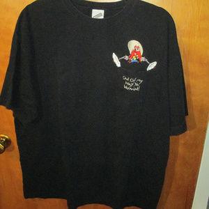 Vintage 1999 Yosemite Sam Embroidered Pocket Shirt